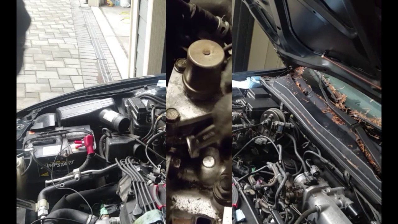 how to remove replace honda vtec solenoid by only removing air intake [ 1280 x 720 Pixel ]