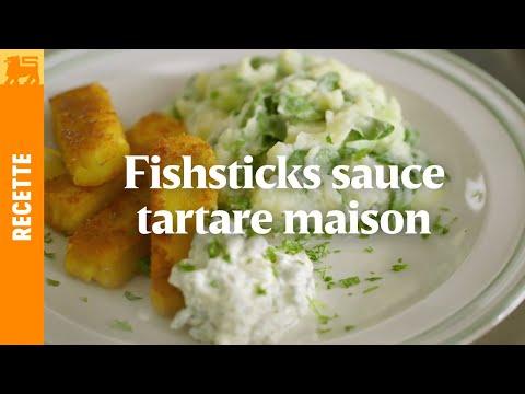 Recettes Delhaize €3 - Fishsticks sauce tartare maison