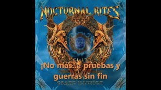Nocturnal Rites - Never Trust [Subtitulado al español]