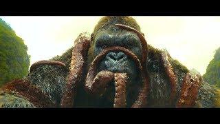 Kong: Skull Island | Kong Vs Giant Octopus [2017]