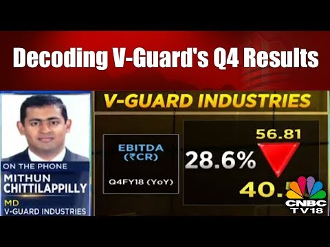 Decoding V-Guard's Q4 Results with Mithun Chittilappilly   #4QWithCNBCTV18