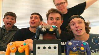 THE Z HOUSE PLAYS GAMECUBE! (Super Smash Bros, Mario Kart & More!)