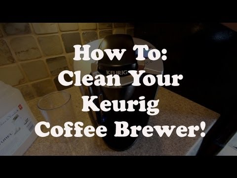 Clean Descale Your Keurig Coffee Brewer Youtube
