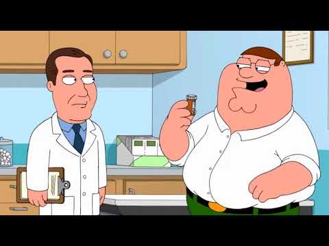 Family Guy - Brian Gets Some Suppositories