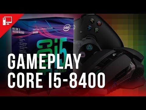Como se sai o Core i5-8400 em games? Veja nosso gameplay!