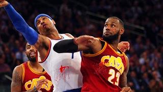LEBRON JAMES VS CARMELO ANTHONY (Parody) NBA 2K17 Gameplay