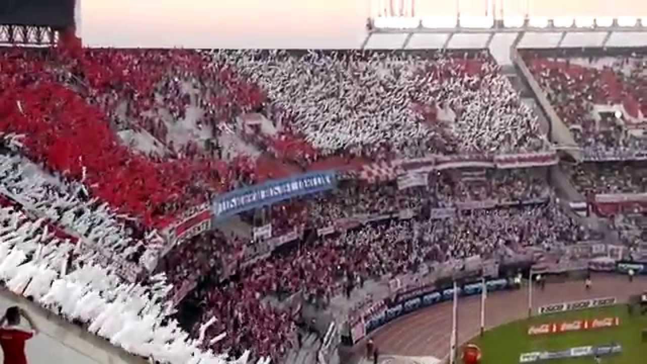 River Plate Contra Racing: AHI VIENE LA HINCHADA + A DONDE VAYAS