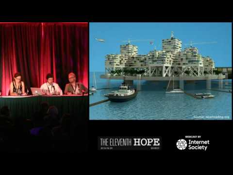 The Eleventh HOPE (2016): Smart Cities and Blockchains: New Techno-Utopian Dreams or Nightmares