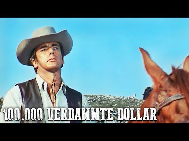 100.000 verdammte Dollar (Italowestern auf Deutsch in voller Länge, Westernfilm kostenlos anschauen)
