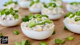 Закуска Фаршированные Яйца! Всем Знакомо, но Всегда Вкусно и Просто!