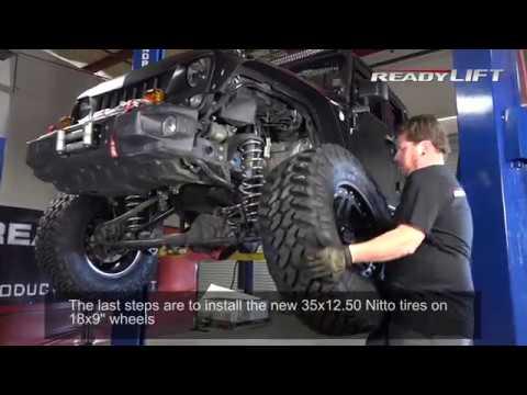 Jeep JK Terrain Flex Suspension System