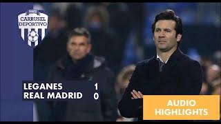 AUDIO: Resumen del Leganés 1 - 0 Real Madrid en Carrusel thumbnail