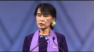 Suu Kyi: 1991 Nobel Prize Shattered My Isolation