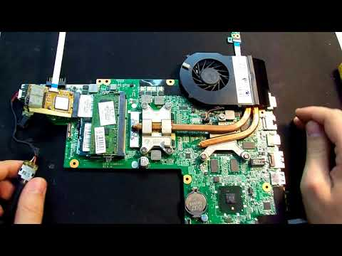 Ремонт ноутбука HP Pavilion Dv6.