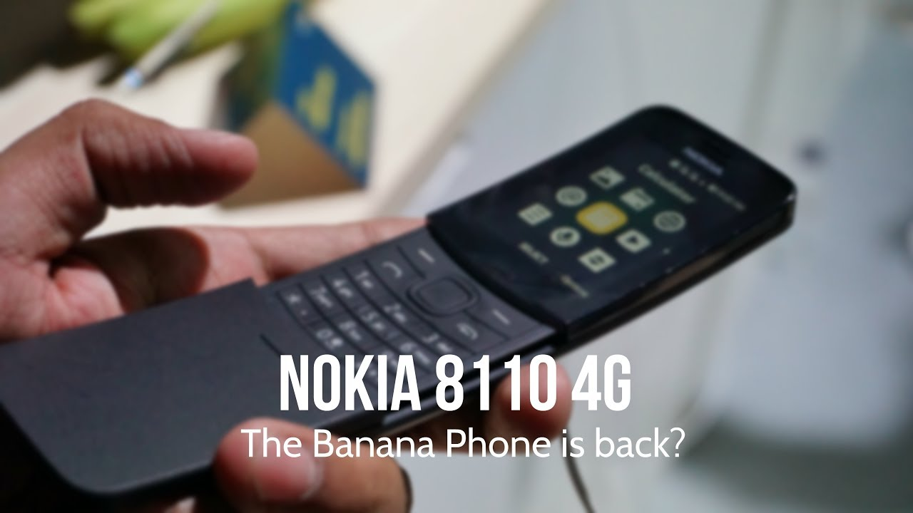 nokia 8110 4g india handson features camera the