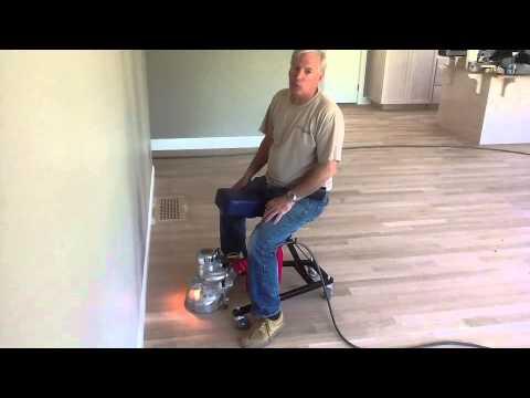 Edger Dolly Floor Sander Youtube