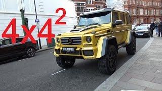 brabus g wagen 4x4 squared in london