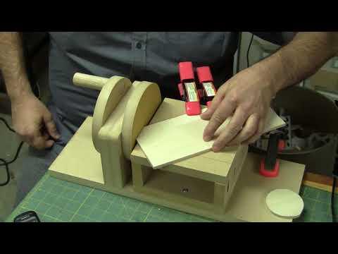 Hand Powered Disk Sander