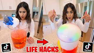 We TESTED Viral TikTok Life Hacks! **they actually work** PART 17