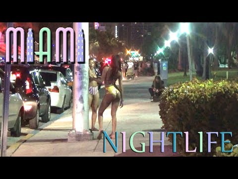 Miami Ocean Drive Nightlife - Sights and Sounds