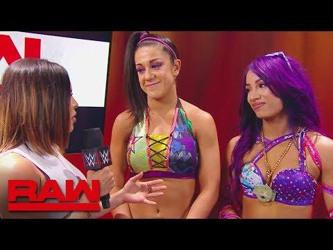 Sasha Banks and Bayley discuss their renewed friendship: Raw, July 23, 2018