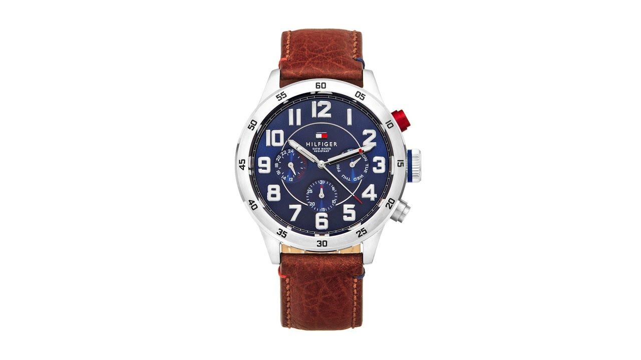 mar Mediterráneo Niño Espesar  Unboxing hodinek Tommy Hilfiger Trent 1791066 - YouTube