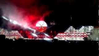 THE WALL EN BUENOS AIRES 2012 - VIDEO 1
