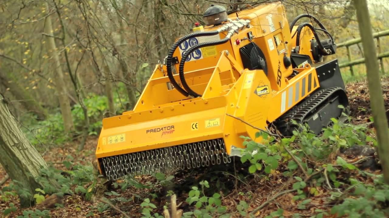 tree mulcher machine