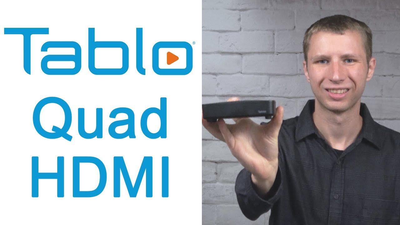 Download Tablo Quad HDMI Over the Air DVR Review