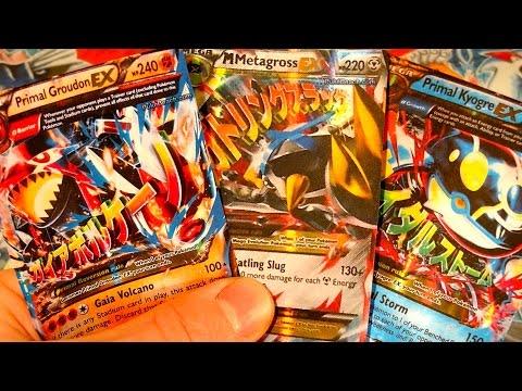 Cartes Pokémon XY 5 Primo Kyogre & Groudon EX Mega Metalosse EX Shiney !! Flash !