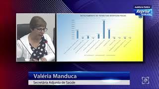 Audiência pública 09/08/2019 - Prestação contas saúde (1º quadrimestre 2019)