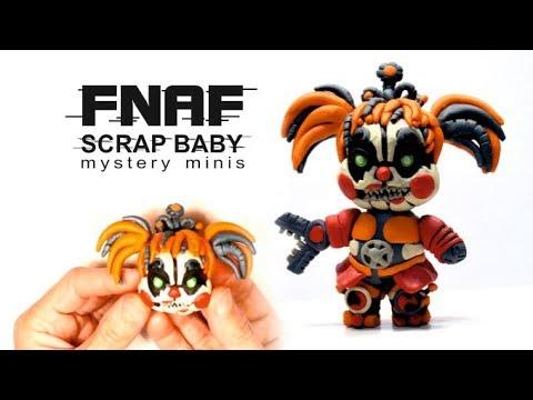 Scrap Baby Mystery Minis — FNAF 6 from Clay ✿ Как слепить Скрэп Бэйби Мистери Минис — из пластилина