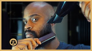 Have a Thick & Cuŗly Beard? Try this Technique. | Ben Wilson