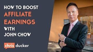 Http://www.chrisducker.com in this episode of the virtual business lifestyle podcast, i chat with top affiliate marketer and online giant, john chow, about t...