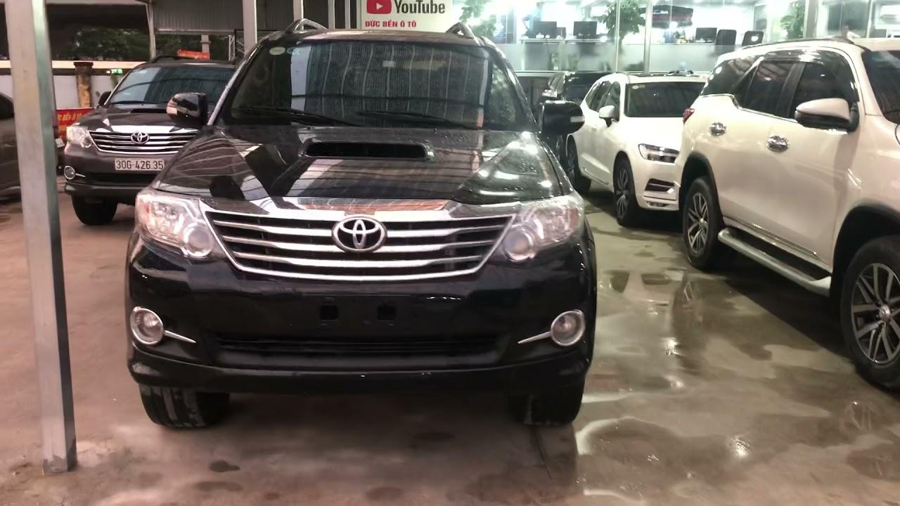 Toyota Fortuner Máy Dầu! 2015! Màu đen, một chủ! Giá cực hợp lý! Tội gì mua innova! 0965525989