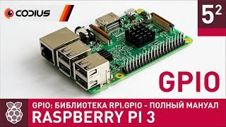 видео Проекты Raspberry Pi на Python c GPIO для DIY проектов
