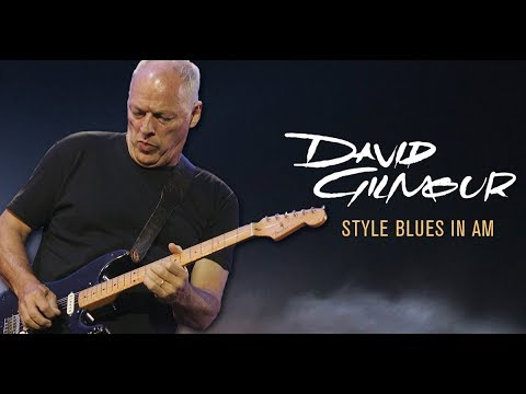 Slow Blues Backing Track - David Gilmour Style (Am)