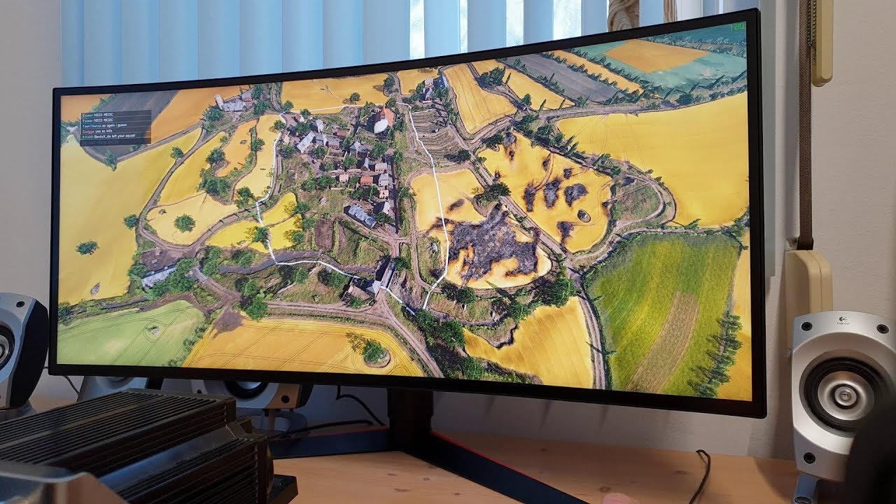 LG 34GK950G-B 21:9 UltraWide Playing Battlefield V