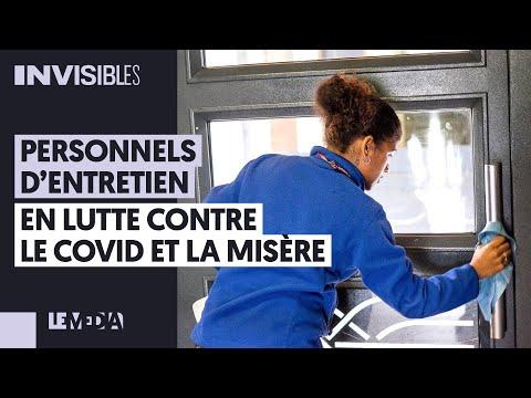 PERSONNELS D'ENTRETIEN : EN LUTTE CONTRE LE COVID, ET LA MISÈRE