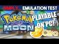 Pokemon Sun & Moon - 3ds 1080p [citra Emulator Test #2] video