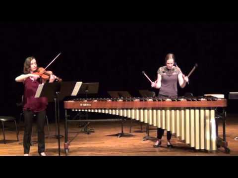 Histoire du Tango - Astor Piazzolla (violin & marimba)