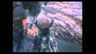 Falklands War -Welsh Guards near Mt Harriet May 1982.wmv
