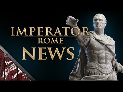 Imperator: Rome News! Huge changes coming to Cicero! Cities being split into cities and settlements!