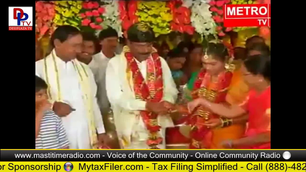 KCR fans in AP celebrates when he attends a marriage at Tirupati || Telangana CM || TTD