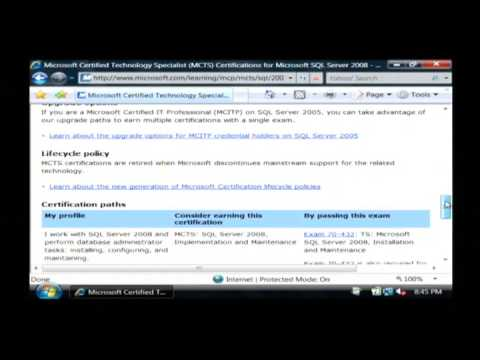 Computer Training : How to Obtain Microsoft Certification - YouTube