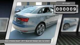 2017 audi a3 sedan metairie la n078894