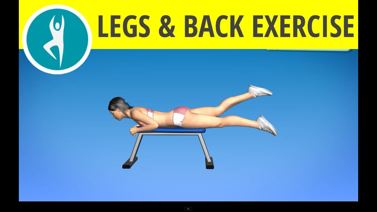 Leg, Hamstrings and Glutes Exercise for Women at Home ...