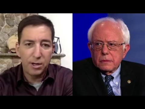 Glenn Greenwald On Bernie Working With The Establishment