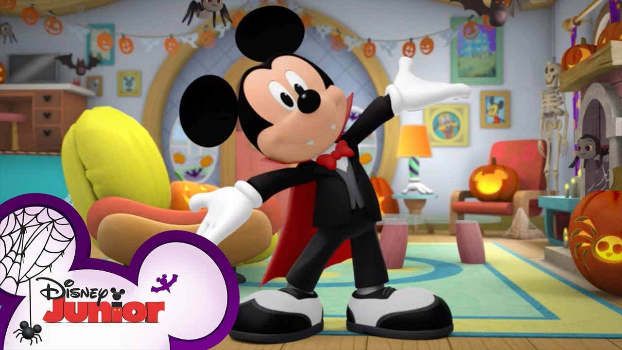 Every Mickey Mouse Halloween Music Video 🎃  Compilation   Mickey's Trick or Treats   Disney Junior