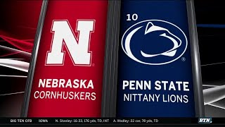 Nebraska at Penn State - Football Highlights